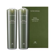 [NATURE REPUBLIC] Snail Solution Skin Care Set 1Pack (2items) (AU)