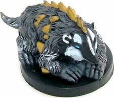 D&D Mini -  CELESTIAL DIRE BADGER  #13  (Deathknell Series - SEALED with CARD!!)