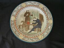 """IVANHOE Wedgood Plate 10"""" Polychrome Hand Colored PRETTY!"""