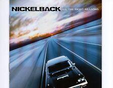 CD NICKELBACK all the right reasons 2005 EX