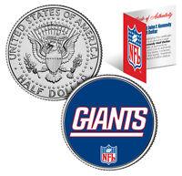 NEW YORK GIANTS NFL JFK Kennedy Half Dollar US Coin  *Officially Licensed*