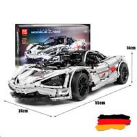Custom Technic 720S racecar Auto 42056 42083 42110 42115 Blöcke Bausteine MOC