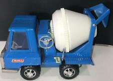 Buddy L Cement Mixer Truck Blue Pressed Steel 1960's 1970's Japan Nice