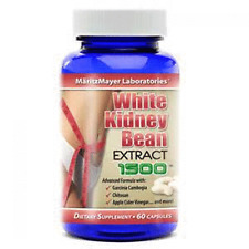 White Kidney Bean Extract w/ Garcinia Cambogia 1500mg Weight Loss Fat Burner