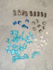 Lego Lot of 82 Trans Black Blue Clear Windshield/Windscreen Vehicle Car City