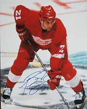 BOYD DEVEREAUX Signed DETROIT RED WINGS 8x10 PHOTO! AUTOGRAPH! 3000396