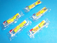 NEW 5 PACK 3M YELLOW NEON UNCORDED EAR PLUGS E-A-R SOFT 5 PACK 312-1252
