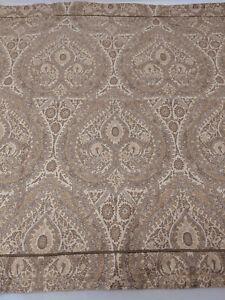 Restoration Hardware Italian Cypress Paisley Pillowcase Sham Queen Size Italy