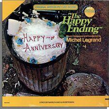 The Happy Ending (1969) - New 1980s Original Soundtrack Michel Legrand LP!
