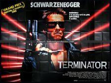 TERMINATOR Affiche Cinéma GEANTE 4x3 WIDE Movie Poster SCHWARZENEGGER