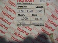 HELICOIL 191-3CN-380S 10-32 FREE RUNNINGTHREAD INSERTS 1000 each(SPODR-001)