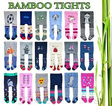 Baby Boy Girl BAMBOO Tights Kid Leg Warmers 0-6 6-12 12-18 18-24 months