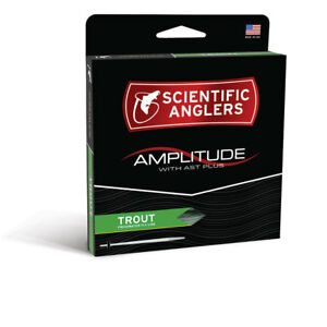 SCIENTIFIC ANGLER AMPLITUDE TROUT WF-6-F #6 WEIGHT FWD FLY LINE WITH AST PLUS
