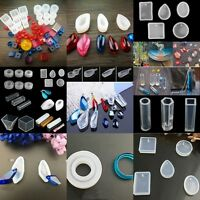 Silicone Pendant Mold Making Jewelry Pendant Resin Casting Mould Craft DIY Tools