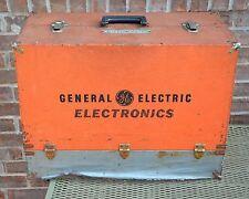 Vintage General Electric Electronics Tubes TV-Radio Serviceman Box Steampunk