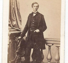 PRINCE ROBERT Duke of Chartres 1860s Old CDV albumen PHOTO H.TOURNIER France