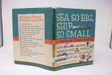Sea So Big, Ship So Small~Jeanne Bendick~Vintage~1967~Homeschool~