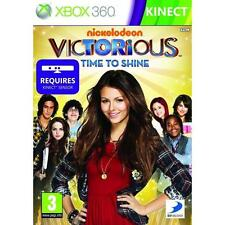 Pal version Microsoft Xbox 360 Victorious Time to Shine