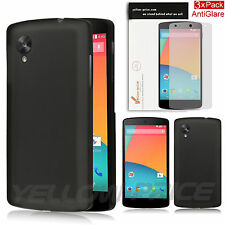 LG Google Nexus 5 Ultra Fit Flexible TPU Case / Free Matte Screen Protector