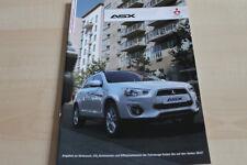 138770) Mitsubishi ASX Prospekt 01/2013