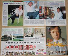 JOSE LUIS CANTERO EL FARY lote de prensa 1980s fotos revistas clippings