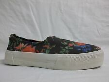 Steve Madden Size 10 M Booombox Floral Loafers Slip Ons New Womens Shoes NWOB