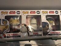 Star Wars Funko Pop Job Lot 3 Pack #260, 261, 263