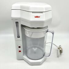 Salton Iced Tea & Iced Coffee Maker Brewer Machine KM44 KM-44 White 2 Liter