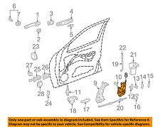 Mercedes MERCEDES-BENZ OEM 98-03 E320 Front Door-Lock Latch Kit 2027203535