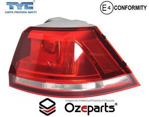 RH RHS Right Hand Tail Light Lamp (Clear) For VW Volkswagen Golf MK7 13~17 Wagon
