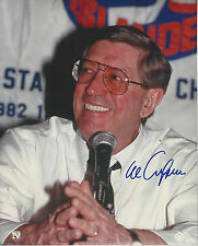 NY Islanders HOF Coach Al Arbour (Dec.)  autographed 8x10 color Press photo