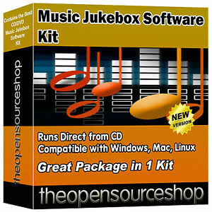 Media Music Management Collection Suite – PC Jukebox Hard Drive Audio Player