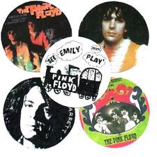 5 SYD BARRETT  BADGES. PINK FLOYD, See Emily Play, Arnold Layne, psychedelia.