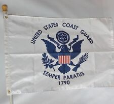 U.S. Coast Guard 3X5' Nylon Flag Made In The Usa Officially Licensed New Uscg