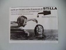 advertising Pubblicità 1971 COLLIRIO STILLA