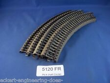 EE 5120 FR Marklin HO M Track Industrial Curve Pack of 4 Fair Condition