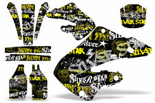 Honda CR125 CR250 Graphic Kit Dirt Bike Wrap MX Stickers Decals 2000-2001 SSSH Y