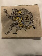 Boy Scout 1963 World Scout Jamboree Cloth Patch, Lot of Three