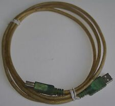 Cable usb type AB 1m20 translucide
