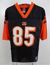 Cincinnati Bengals Chad Johnson #85 Reebok Nfl Jersey Black Size Medium