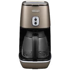DeLonghi Freestanding & Distinta Filter Coffee Machine Bronze - ICMI211.BZ New
