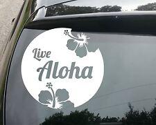 Grand live ALOHA SURF Drôle Voiture / Fenêtre Jdm VW Euro Autocollant Vinyle Autocollant