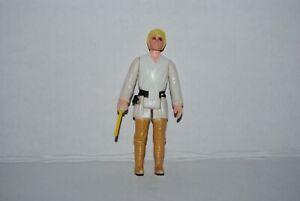 vintage star wars kenner  luke skywalker first 12 farmboy complete missing tip