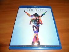 Michael Jackson's This Is It (Blu-ray Disc, 2010) Used
