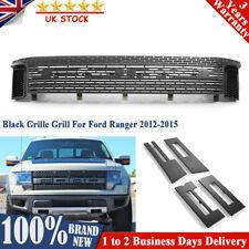 Front Mesh Black Grille Grill For Ford Ranger 2012-2015 Raptor Style UK Ship