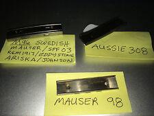 Stripper Clips (3) M96, Aussie 308, and Mauser 98 Stripper Clips