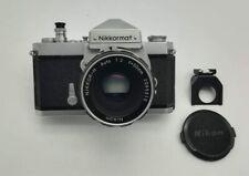 Fotocamera Nikon Nikkormat Ft silver + 50 mm f 2 H Pre AI Macchina Fotografica
