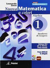 Nuova matematica a colori. Algebra. Con quaderno di recupero-Prove INVALSI. Ediz