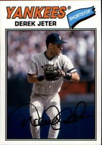 2018 Topps Archives #200 Derek Jeter White Pinstripe SP Short Print Yankees