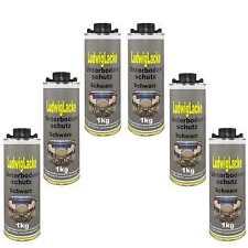 Bitumen UNTERBODENSCHUTZ schwarz 6 x 1 kg für Autolack Lackierer &Versand